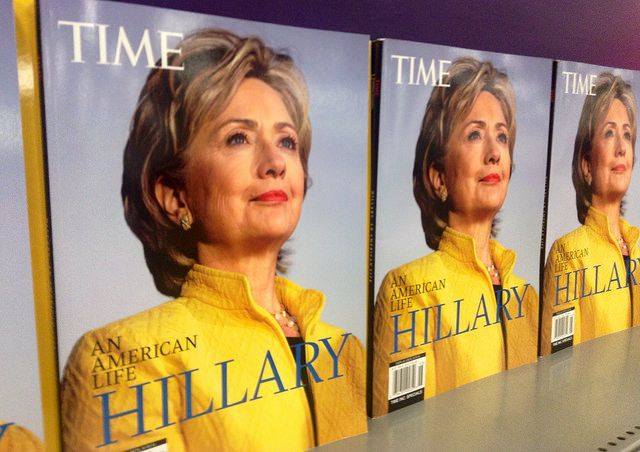 Hillary Clinton On Time Magazine