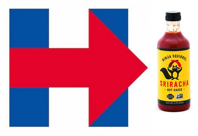 Hillary and Hot Sauce