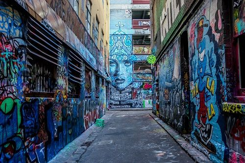 Melbourne-Hosier-Lane-Street-Art