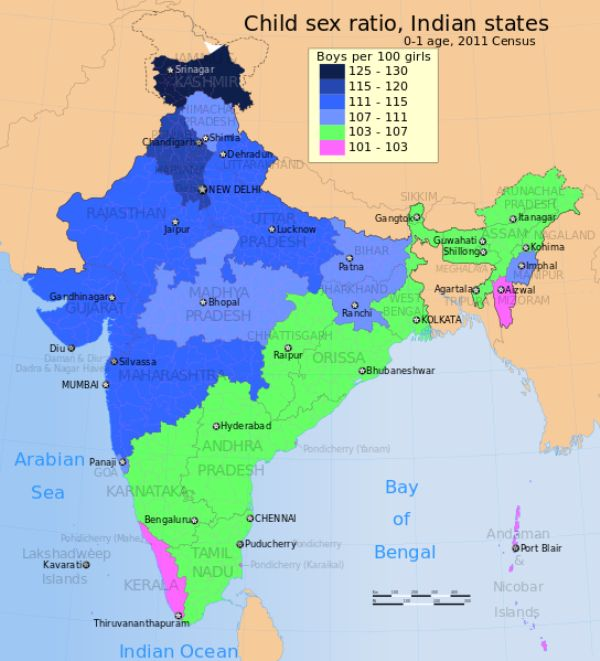 Sex Ratio In Kerala
