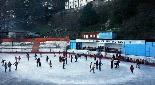 Shimla ice skating rink