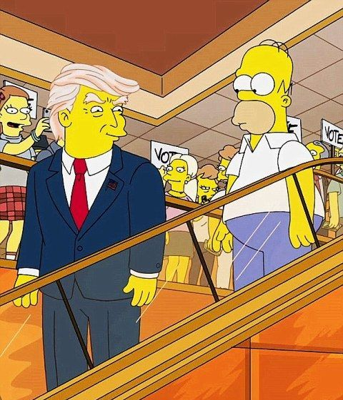 simpsons-and-trump
