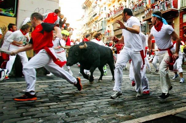 spain running of bull