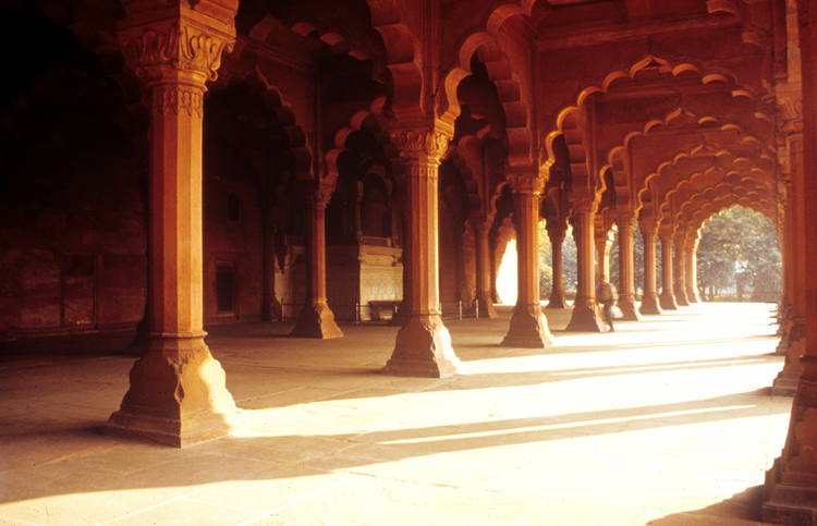 red fort inside