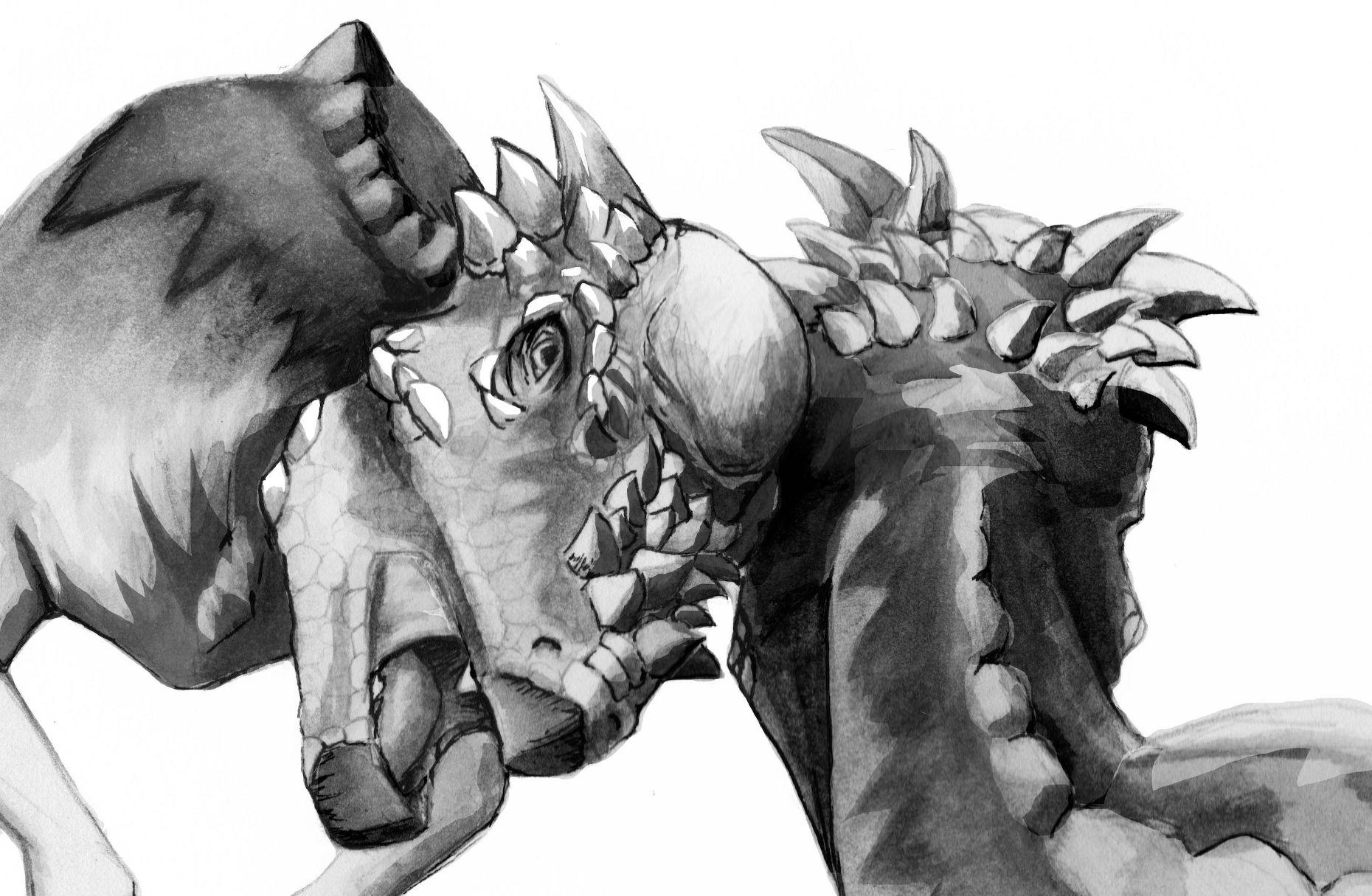 Pachycephalosaurus_head_butting