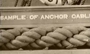 hemp anchor rope
