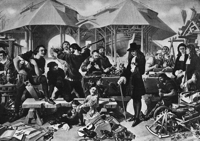 Lithograph After Painting by Daniel Maclise