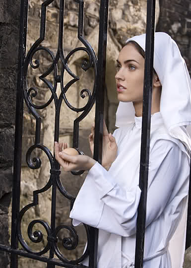 Megan Fox as Mother Teresa