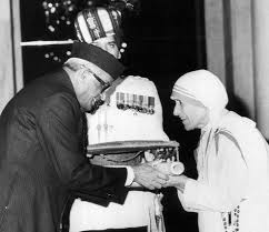 Mother Teresa with Bharat Ratna