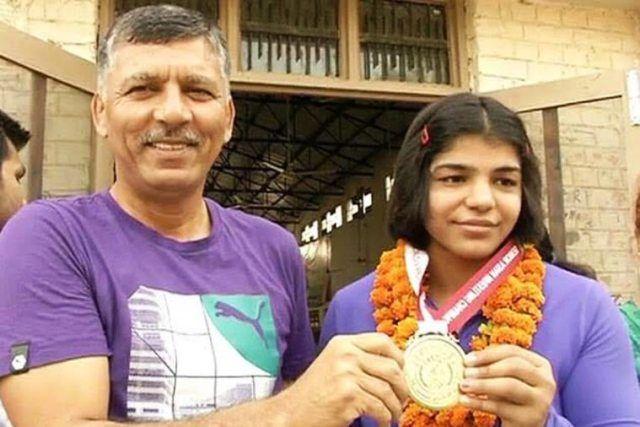 Sakshi Malik sub junior Asain medal