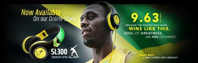 Usain Bolt Headphones