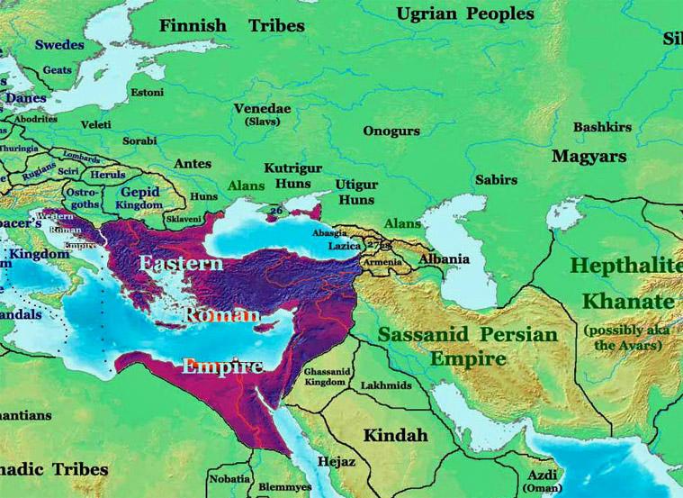 roman persian conflict