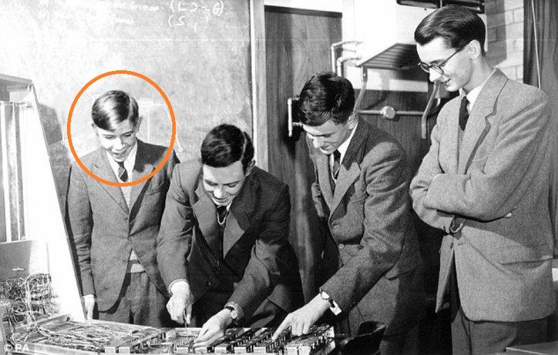 Stephen Hawking School Days