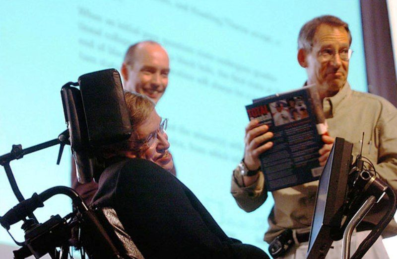 Stephen Hawking With John Perskill