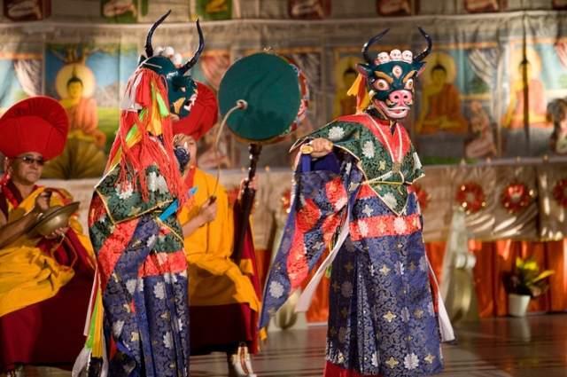 Cham Dance of Bhutan