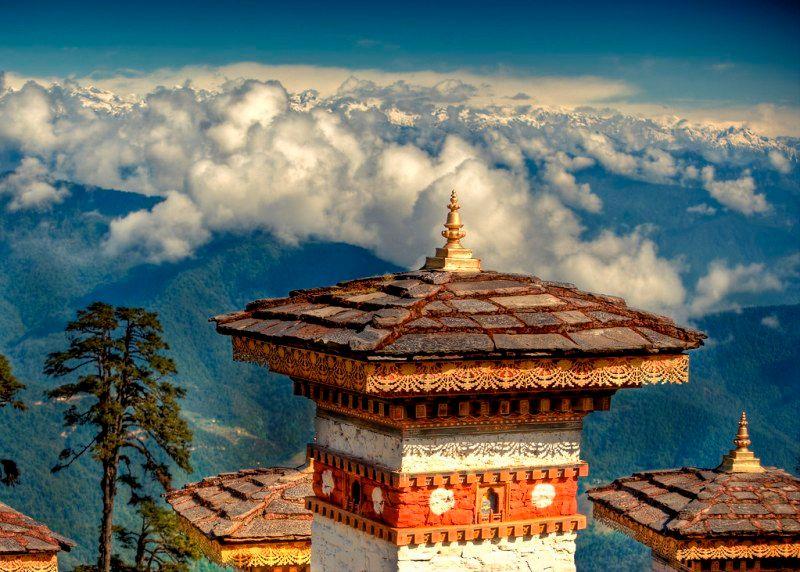 DochuLa Pass Bhutan