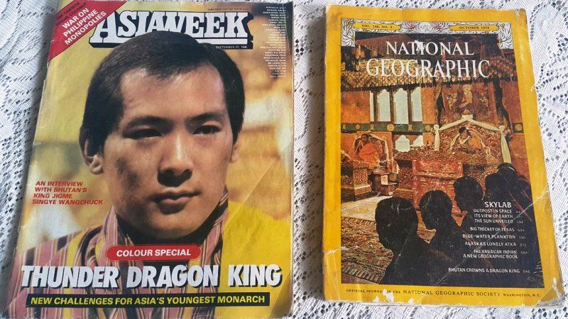 Magazine Covers Featuring Jigme Singye Wangchuck