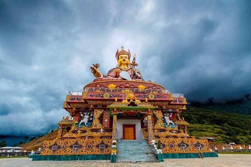 Padmasambhava Temple In Bhutan