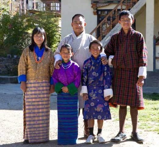 Bhutanese national custume
