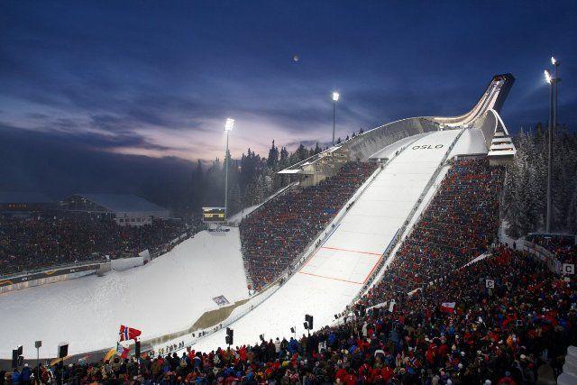 Holmenkollen Ski Jumping