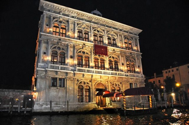 Casino di Venezia at night