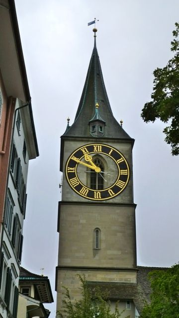 Clock Tower Zurich