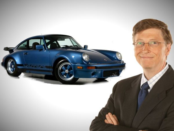 Bill Gates Porche Fan