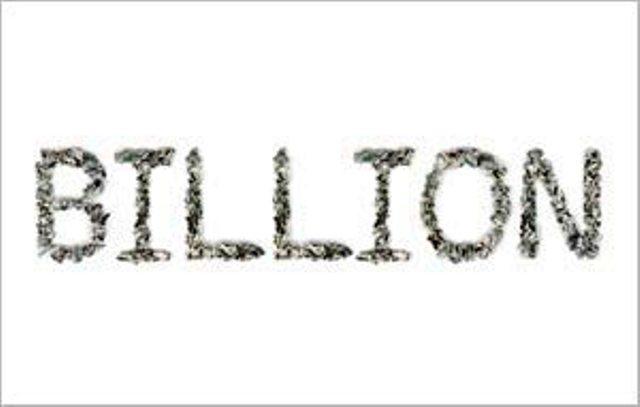 Billion - Crimped 100$ Bills