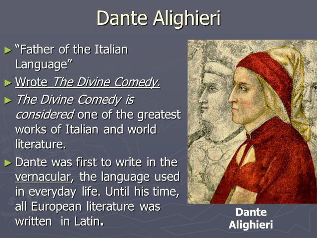Father of Italian Language