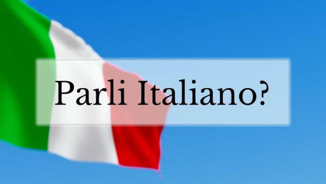 Italian language