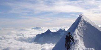 K2 steep ascent