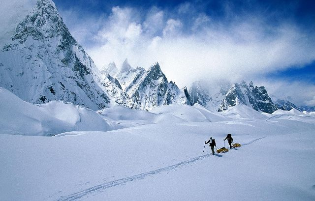 Karakoram white mountain
