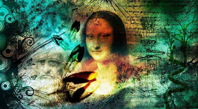 Leonardo da Vinci collage