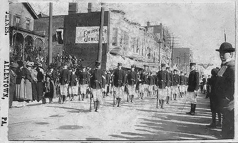 Spanish-American War Veterans Parade Allentown, Pennsylvania