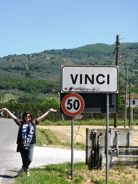 Vinci town Italy