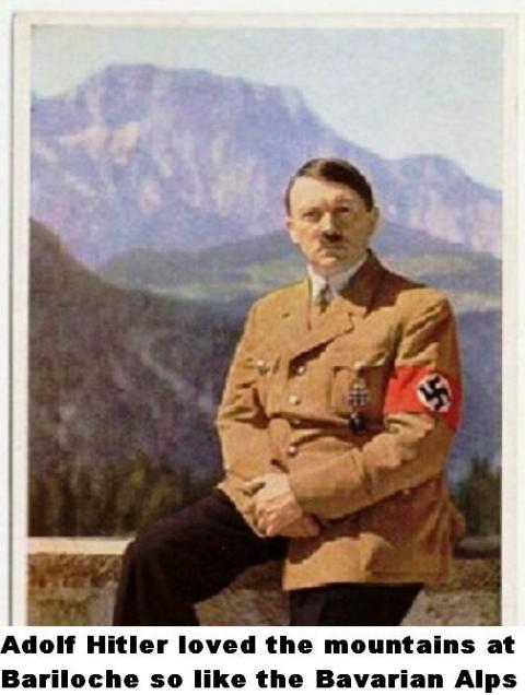 Adolf Hitler and Alps