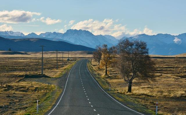 Mackenzie Basin region, New Zealand