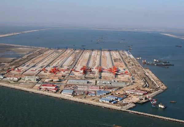 Biggest port China