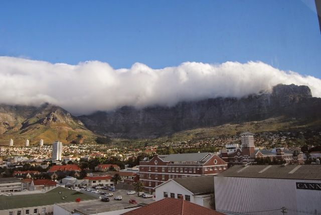 Clouds on the Table Mountain