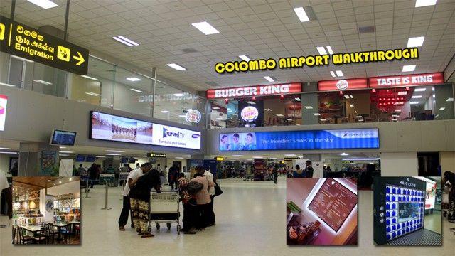 Colombo Airport, Colombo, Srilanka