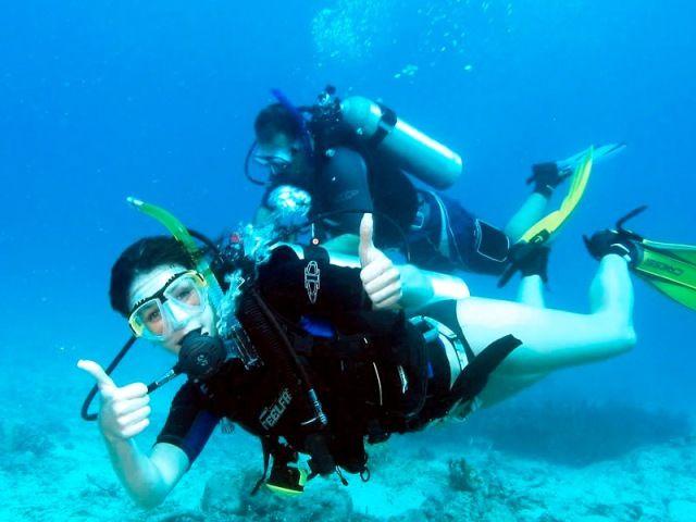 Diver in Gulf of Thailand