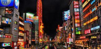 Downtown Osaka, Japan
