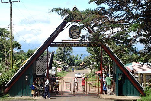 Entry Gate of Mount Kilimanjaro