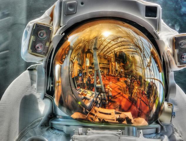Helmets of Astronauts