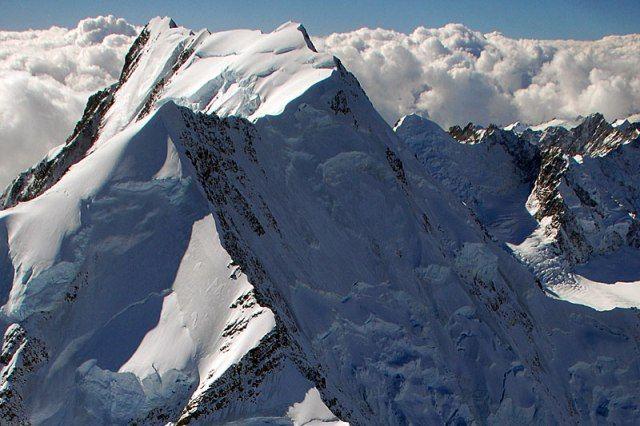 Hooker Glacier, Southern Alps New Zealand