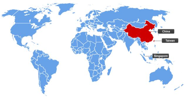 Mandarin Speaking Countries
