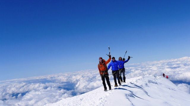 Mont Blanc first ascent