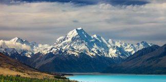 Mount Cook, (Ahead), New Zealand
