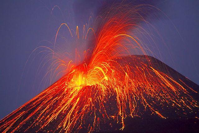 Mt. Fuji Eruption, Japan