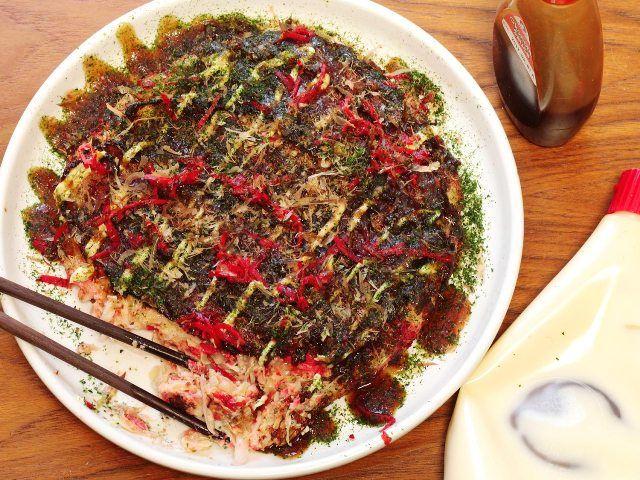 Okonomiyaki, Japanese Pancake
